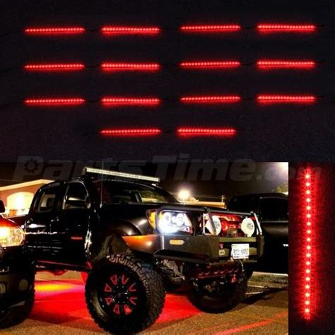 underbody lights for trucks 14pc 3 lighting modes neon light underglow underbody