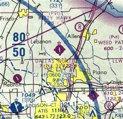 dallas sectional chart abandoned little known airfields texas northern