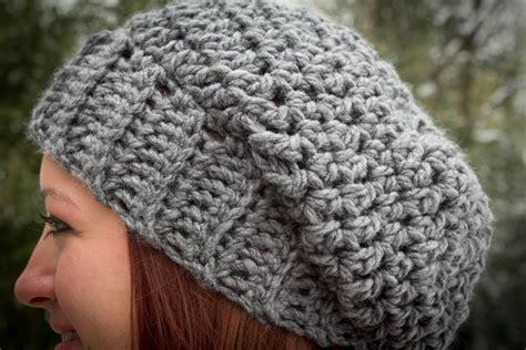 crochet pattern chunky yarn hat crochet chunky slouch hat by janspirik craftsy