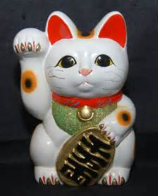 about lucky cat maneki neko