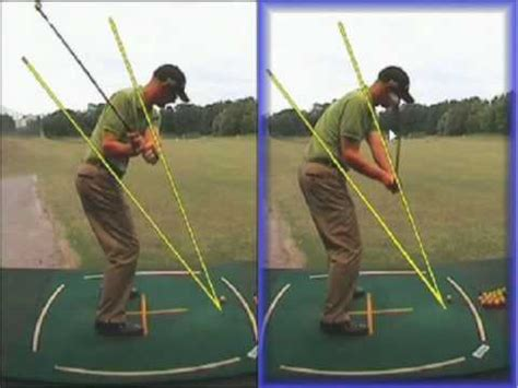 how to swing on plane in golf swing plane golf lesson exeter golf lessons youtube