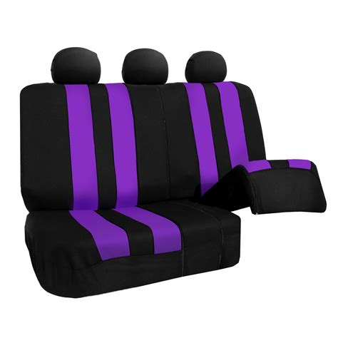 bench car seat cover car seat cover set for auto airbag compatible split bench