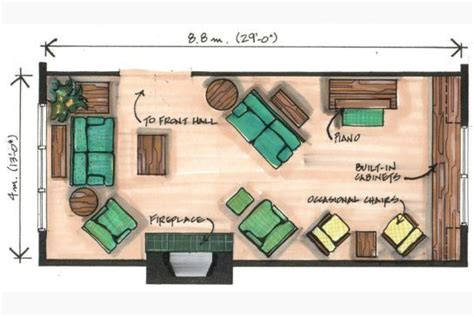 arrange living room furniture awkward space angled furniture arrangements works best in narrow room