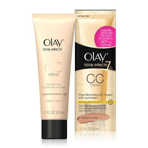 Olay Total Effects Moisturizer olay total effects pore minimizing cc