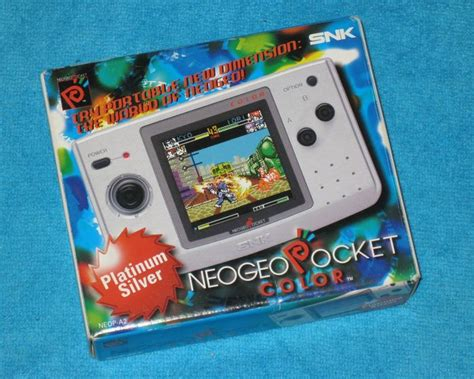 color pal neo geo pocket color pal platinium silver boxed catawiki