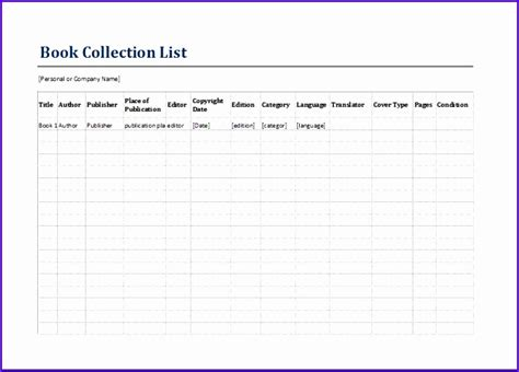 6 Inventory Excel Template Exceltemplates Exceltemplates Book List Excel Template