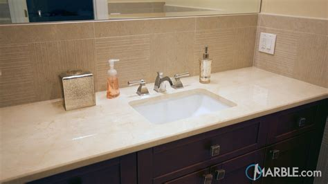 Crema Marfil Marble Countertop by Crema Marfil Marble Countertop In A Classic Bathroom