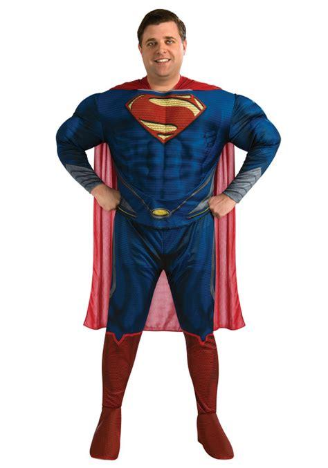 superman costume deluxe superman plus size costume