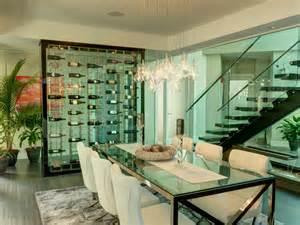 all glass wine cellar modern wine cellar other metro