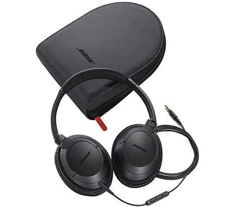 bose soundtrue on ear headphones black amazon co uk buy bose soundtrue ae headphones black free delivery