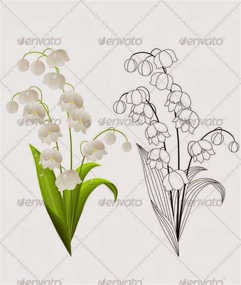 lily of the valley tattoo designs of the valley tattoos ideas images like