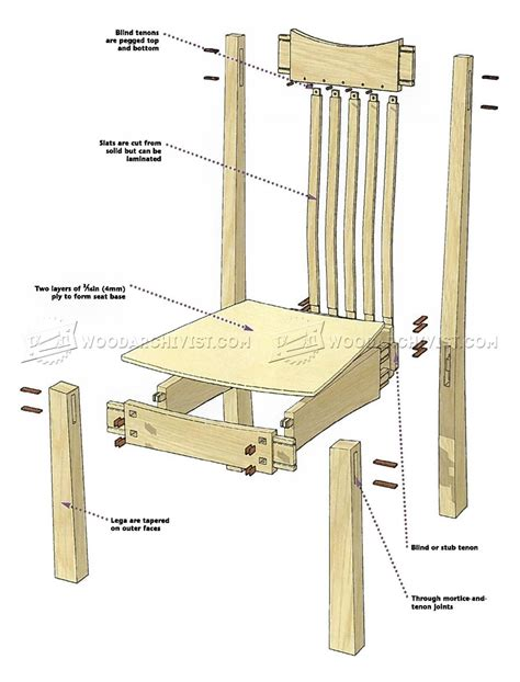 arts and crafts woodworking arts and crafts chair plans woodarchivist