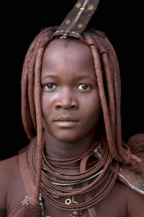 nigerian native hairstyles for women weird red mud african tribes himba hairstyle himba tribe