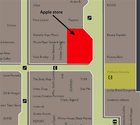 washington square mall map apple digs at microsoft with bellevue store relocation mac rumors