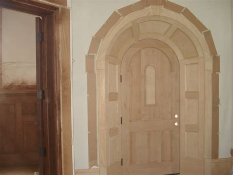 Handmade Doors - quot david carpentry image portfolio custom door trim