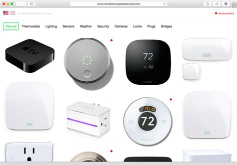 list of smart home devices 17 best images about apple homekit on pinterest home