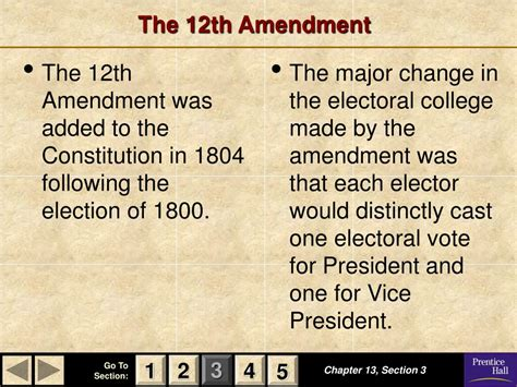 Chapter 13 Section 5 The Election by Ppt Magruder S American Government Powerpoint