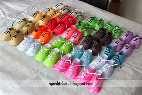Return Gifts For Baby Shower by Return Gift Ideas For Baby Shower Each Shoe Filled With