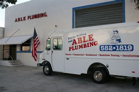 Plumbing In Florida by Best Plumber In Palm County Offers Plumbing Inspections For The New Year Able Plumbing