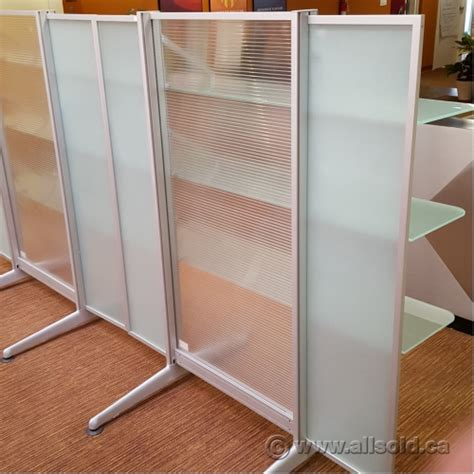 Glass Shelf Dividers by Steelcase Werndl Privacy Panel Office Divider With Glass