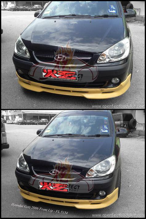 hyundai getz  front lip hyundai getz johor bahru jb malaysia body kits  perfect motor sport