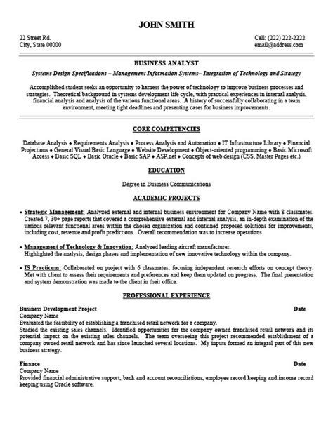 Premium Resume Templates by Business Analyst Resume Template Premium Resume Sles Exle