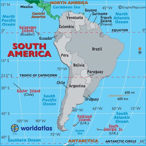 map of south america free large images large map of south america easy to read and printable