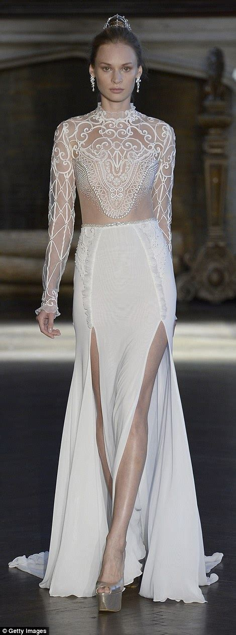 Frock Horror Of The Week Catwalk 11 by Near Wedding Dresses Hit The Catwalk At Bridal