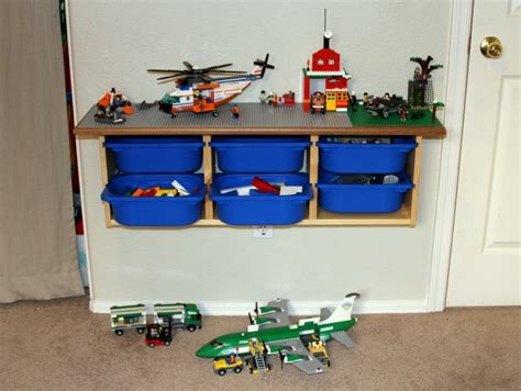 diy lego storage and play table