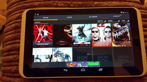 showbox for android tablet how do i showbox to my tablet
