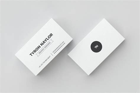 Ad Business Card Templates 35596 by Minimal Business Card Template 66 Business Card