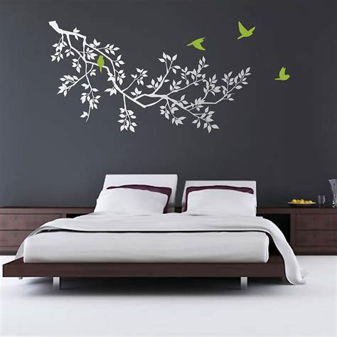 wall stickers branches white by zazous