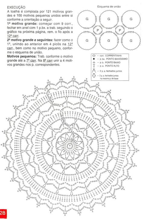 crochet pattern and diagram 25 b 228 sta id 233 erna om crochet doily diagram p 229 pinterest