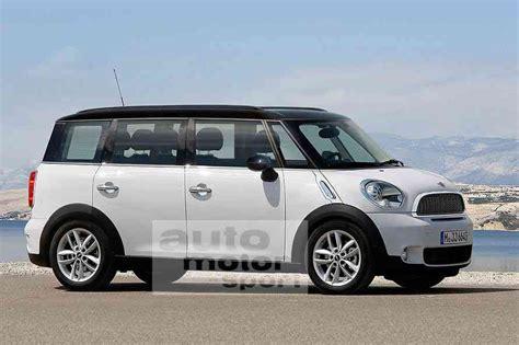 bmw van rumormill mini van to debut in geneva