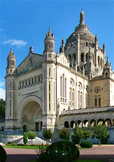 st therese basilica lisieux france post tour to paris nevers lisieux with 206 tours