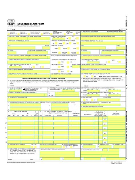 Insurance Form   26 Free Templates in PDF, Word, Excel