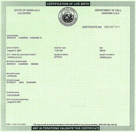 full birth certificate wa the 1st birth certificate h2ooflife