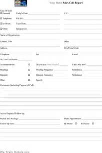 sle sales call report template 6 documents in pdf the hotel sales call report can help you make a