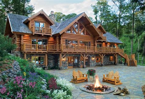 old fashioned log home cabin classic ken lacoy