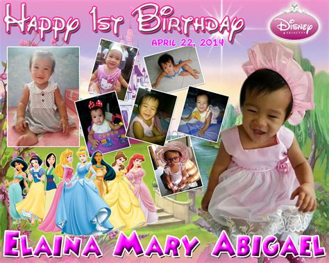 tinkerbell photo booth layout abby s disney princess backdrop cebu balloons and party