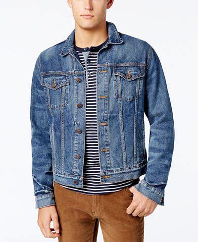 Jaket Jaket Levis Denim Hoodie 001 hilfiger denim s classic denim jacket coats jackets macy s