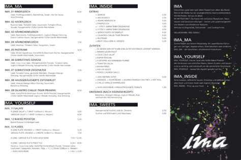 speisekarte speisekammer frankfurt ima multibar gastst 228 tten restaurants in frankfurt am