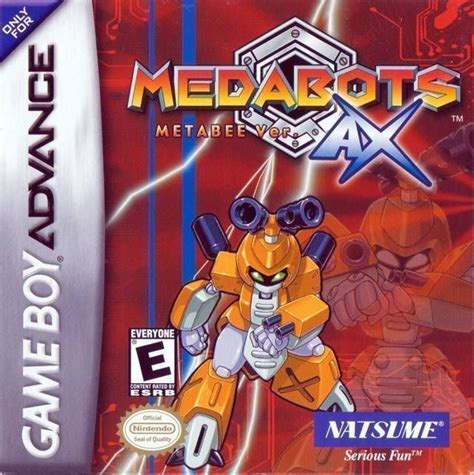 emuparadise my boy medabots metabee version gameboy advance gba rom download