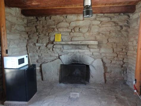 palo duro canyon bed and breakfast inside cow cabin microwave and mini fridge picture of