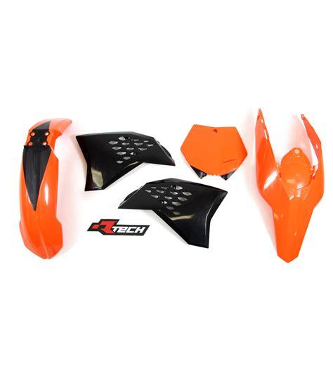Ktm 125 Sx Plastics Ktm125 Sx 2007 2010 Racetech Oem Plastics Kit Ktm 125