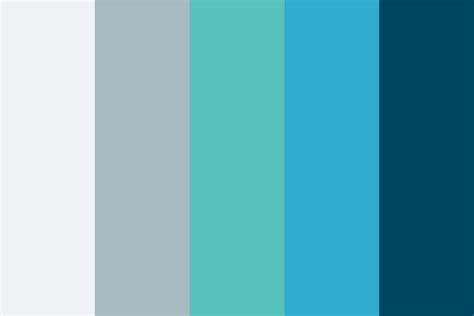cold colors cold water color palette