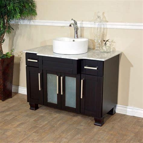 stand alone vanity bellaterra home trento i 40 in single vanity in