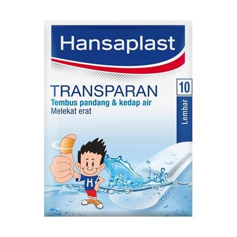Hansaplast Plaster Transparant jual hansaplast plaster transparan 10 s harga