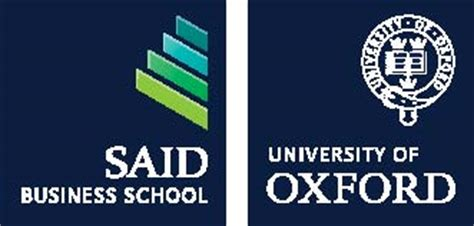 Said Mba by Oxford Mba At The Sa 239 D Business School At Graduate