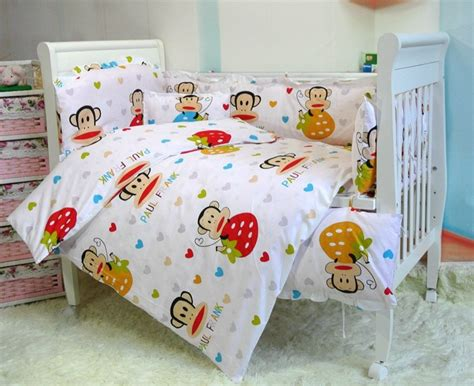 Baby Crib Bedding Stores Aliexpress Buy Baby Cot Set 100 Cotton Crib Set For 10 Pcs Baby Bedding Set